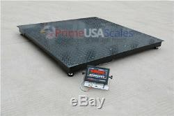 1,000 lb x. 2 lb Wireless 5x5 Floor Scale Pallet Scale with Indicator