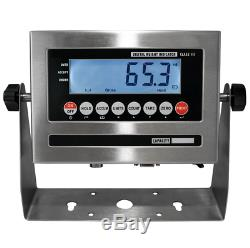 5 Year Warranty 10,000 lb 4x8 Pallet Floor Scale NTEP Legal 4 Trade SS Indicator