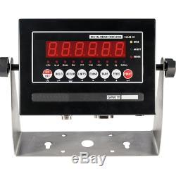5 Year Warranty 10,000 lb 4x8 Pallet Floor Scale NTEP Legal Trade LED Indicator