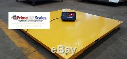 5 Year Warranty 5500 lb x 1 lb 40x40 Floor Scale Pallet Scale with Indicator