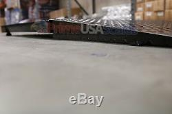 5x5 Floor pallet Scale 5,000 lb with 60 x 30 Ramp for Pallet Jack