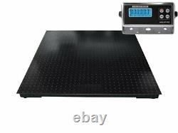 (60 x 48) 5'x4 Floor Scale /Pallet Scale with Metal Indicator 5000 x 1 lb