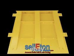 60 x 60 floor scale with ramp 2000 lbs x. 5 lb + printer / Industrial Pallet