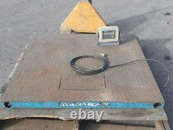 Avery Weigh-Tronix 5000 lb Pallet Scale Weight Indicator Digital Needs TLC