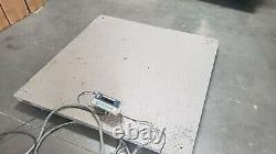 CAS Pallet Scale, 5000lb Cap, Used 48x48 with display
