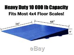 Floor Scale Ramp Customized for Small Spaces Pallet (4x4) 48 X 24X4