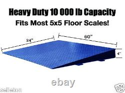 Floor Scale Ramp customized 60 x 24 x 4 (for small spaces) pallet (5 x 5)