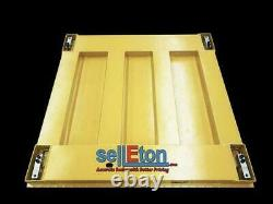 Floor Scale with Printer & Indicator 10,000 lbs x 1 lb STG Pallet Size 60 x 60