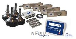 High capacity Floor / Pallet Scale Kit 12t5kg with ABS Plastic Indicator