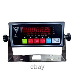 Industrial Floor Scale, Accurate Digital Pallet Scales with Indicator for Warehou