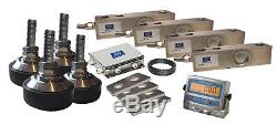 Livestock, Floor / Pallet s scale Kit 3000kg1kg with Stainless Steel Indicator