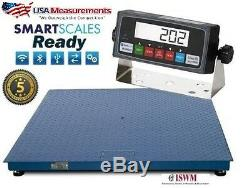 NEW 5x5 Floor Scale 20,000 x 5 lb Pallet Scale Heavy Duty / USA Calibrated