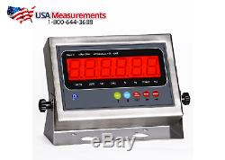 New 10000x1lb 4x4 Floor Scale /Pallet Scale / SS Upgrade/ Good for Outdoor Use