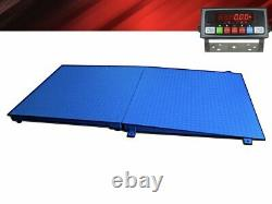 Ntep 4' X 4' (48'' X 48'') Floor Scale / Pallet Size with Ramp 1000 Lbs X 0.2 Lb