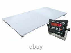 Ntep Floor Scale 5' X 7' (60 X 84) Pallet Scale With Ind 5000 Lbs X 1 Lb