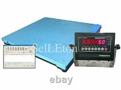 OPTIMA NTEP Legal 48 x 48 Floor scale pallet 5000 x 1 lb with Data Software