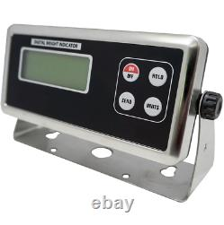 Optima Pallet Scale 40x40 Floor Scale 40 x 40 Heavy Duty Without Indicator