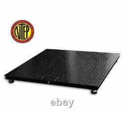 PEC NTEP Certified Legal for Trade Floor Scale Heavy Duty Industrial Pallet Scal