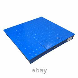 PEC Scales Steel Floor Scale, Accurate Pallet Scale with Smart Digital Indicator