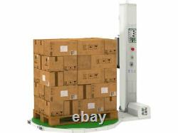 SL-3011 Low Profile Pallet Wrapper 52 x 52 x 104 up to 4000 lbs Capacity