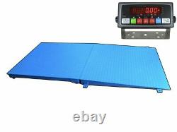 Selleton 48 X 48 Pallet Size Floor Scale With a Ramp Capacity 10,000 Lbs X 1lb