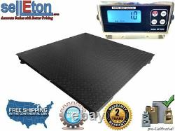 Selleton Pallet Floor Scale With Metal Indicator 5000 X 1 Lb 5' X 4