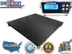 Warehouse 40 x 40 Floor scale pallet size with 10,000 lbs x 1 lb